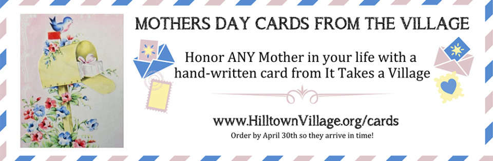 Mothers Day Cards from the Village